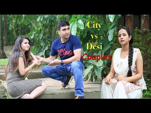 City Couples vs Desi Couples funny