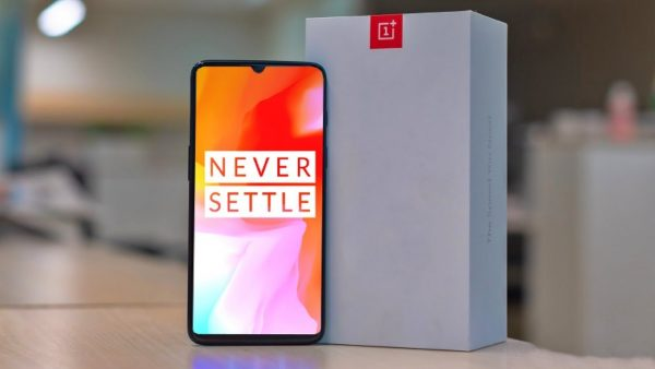 OnePlus 6T is scheduled to launch